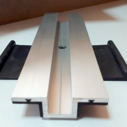 Cam Film Solar Panel Orta Kelepçe Uzunluk 19 Cm