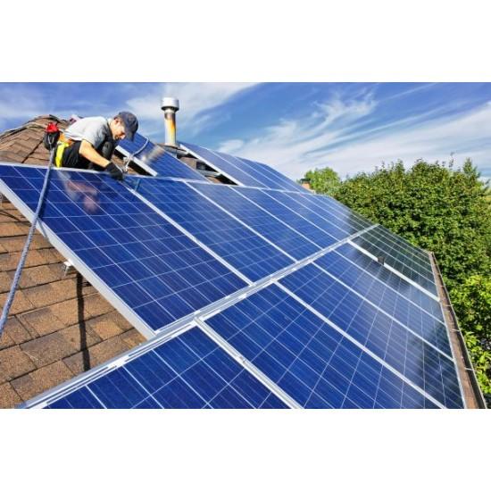 10 KW On Grid Çatı Güneş Enerji Santrali Çatı GES