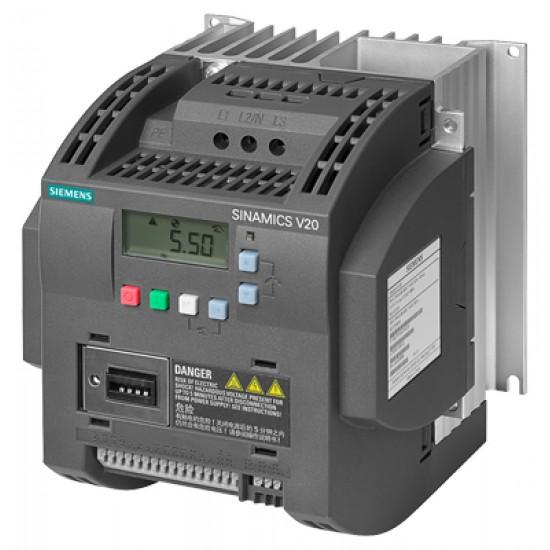 Siemens Sinamics V20 5.5kw 7hp Pompa Sürücüsü Panolu